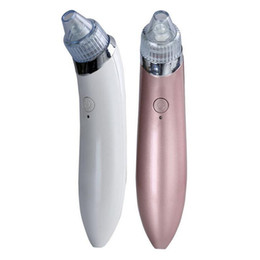 Wholesale Suction Vacuum Cleaners - Electric Pore Cleaner Acne Blackhead Remover Skin Care Device Pore Vacuum Extraction USB Rechargeable Comedo Suction facial cleaner