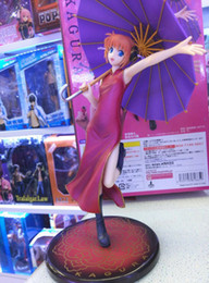 "Wholesale Gintama Figures - Anime Gintama Kagura Purple Umbrella Ver. 23cm 9.2"" Figure Figurine New In Box"