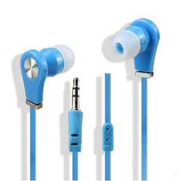 Wholesale Galaxy S4 Blue - Headphones In-Ear Earphone with Mic and Remote Stereo 3.5mm Headset for Samsung Galaxy S7 S6 S5 S4 200pcs up