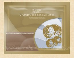 Wholesale Crystal Golden Collagen Eye Mask - PILATEN authorizationAnti-Wrinkle NEW Crystal Collagen Gold Powder Eye Mask Golden Mask PILATEN Crystal Collagen Women Eye Mask Collagen Gel