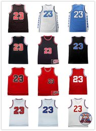 Wholesale Michael Shirts - Hot Sale 2017 MJ Mens Retro Basketball Jerseys Michael #45 23# Jersey High Quality Jeffrey men 2016 Basketball Jersey #23 Throwback Shirts
