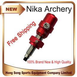 Wholesale Bow Cushions - 1Pcs Red Color Brand Archery Cushion Plunger Arrow Rest Recurve Bow Takedown Hunter Hunting Shoot Indoor Outdoor Free Shippping