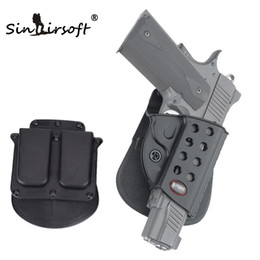 Wholesale SINAIRSOFT standard Holster Magazine Pouch Bird Caller For Fobus Magazine Paddle Holster Combo Black