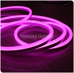 Wholesale 24v Neon - 25meter spool bright 24V flexible neo neon strip 2835 smd Led Neon lights ribbon rope red yellow blue green white rope