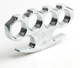 Wholesale Brass Fish - The Mafia TITANIUM HEAVY DUTY BUCKLE BRASS KNUCKLE DUSTER Quality is very good, be worth to collect