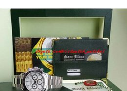 Wholesale Buckle Suppliers - Factory Supplier Luxury Watches Original Box Sapphire White Dial 116520 Automatic Mens Men's Watch Watches