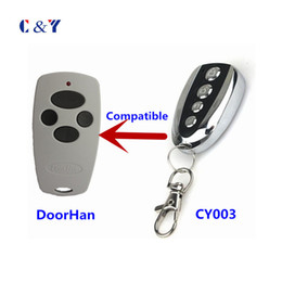 Wholesale remote control rolling code - Wholesale- Doorhan COMPATIBLE 4 Buttons rolling code remote control keyfob with free shipping YET003-DH