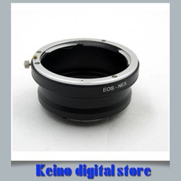 Wholesale nex lens adapters - Wholesale- CAN0N EF Lens to NEX E-mount Camera Lens Adapter (E0S-NEX) Fits for NEX-7 6 5C 5R 5T 3N 5N A5000 A6000 A7 A7R