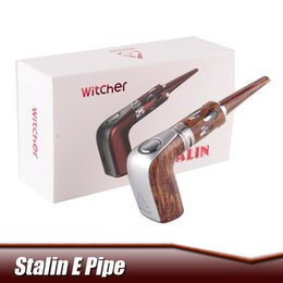 Wholesale Refills Pipes - Original Rofvape Stalin Kit Witch E Pipe Starter Kit 1100mAh 3ml A Plus Tank Top Refill Atomizer Hookah Pen E Pipe Electronic Cigarette