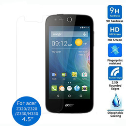 Wholesale Screen Protector Acer - Tempered Glass Screen Protector Film For Acer Liquid Z330 M330 4.5-inch Tempered Glass Film Anti Scratch Anti Impact Protective Film