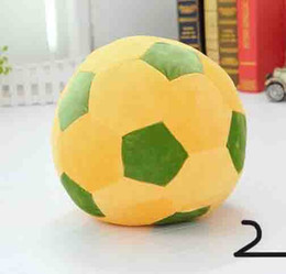 Wholesale Soft Football Toy - Big Size Football Plush Doll 30cm Size Soft Stuffed Toy New Arrived Christmas Gift Kids Gift Whole Sale And Retails