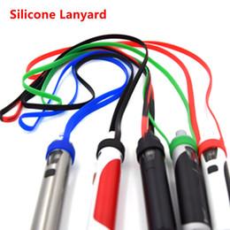Wholesale Lanyard Ego - newest silicone ring vape band silicone lanyard necklace for mechanical mod ego aio ego one sub ohm tank silicone vapeband