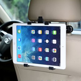 "Wholesale Adjustable Stand For Ipad Mini - Wholesale-Universal Adjustable Car Mount Headrest For IPad 2 3 4 5 Mini 7""-11"" Tablet PC Multi Holder Bracket Clip Car Seat Holder Stand"