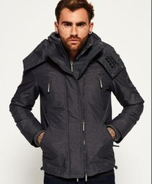 Wholesale Puffer Jacket Men - Hot Sales Think Warm winter SUPER Down jackets Plus size zipper Windproof snowproof Outerwear Coats Down Army Green Puffer Jackets