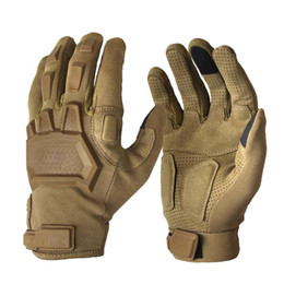 Wholesale Full Forces - Tactical Gloves Men Outdoor Sports Special Forces Full Finger Gloves Antiskid Bicycle Gloves Wearable Gym Glove Free Shipping