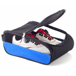 Wholesale Carry Golf Bags - Portable Breathable Football Boots Storage Box Dustproof Soccer Shoes Bag Sports Rugby Golf Travel Carry Case