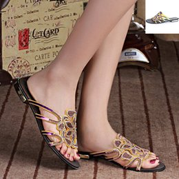 Wholesale China Heels Cheap - 2017 Summer Hot Style Women's Shoes Materials Low Heel Scuff Slippers Office & Career Open Toed Casual Sandals Cheap From China 27D