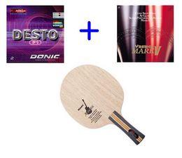 Livraison gratuite NITTAKU Acoustic Guitar Lame de ping-pong lame de ping-pong Yasaka R7 (Mark V, M2) / Donic (F1, M1, S1) tennis de table en caoutchouc pour la raquette ? partir de fabricateur