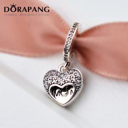 DORAPANG día de la madre 925 cuentas de plata esterlina I Love My Mum colgante encantos adapta al estilo europeo joyería pulseras collar mamá regalos 2107 desde fabricantes
