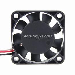оптовый вентилятор dc 12v Скидка 10PCS GDT DC 12V 3P 4010 40mm 4cm 40 x 10mm 9 лопастей Мини-вентилятор