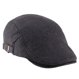 Wholesale Beret Ear - Fashion Cap Unisex Man Women Duckbill Visor Artist Ivy Hat Golf Driving Flat Newsboy Beret peaked Sun Cap Classic Hats