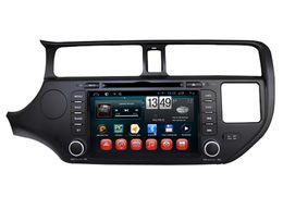2 Din Android 4.4 Car DVD Audio Estéreo Soporte OBD Bluetooth Wifi Navegación GPS Radio OBD Enlace de espejo para KIA K3 Rio 2012-2013 desde fabricantes