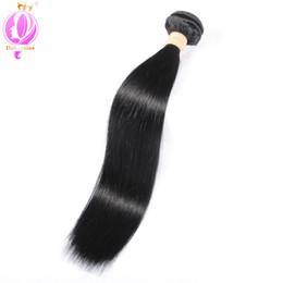 Wholesale Cheap Quality Hair Weave - Top quality Peruvian Virgin Hair Straight Human Hair 1 Pcs Cheap 8-30 inch Peruvian Straight Virgin Hair free shipping