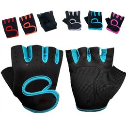 Wholesale Wholesale Gloves For Weights - Neoprene Body Building Fitness Gloves Sports Weight Lifting Gloves Gym Training Exercise Workout Slip-Resistant for Men & Women