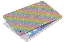 Wholesale vinyl glitter - For Ipad mini 4 Sticker Vinyl Wrapping Front and Back edge Bling Glitter Film for ipadmini 1 2 3 4