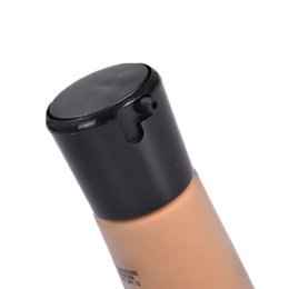 Wholesale Nail Drying Lamp - Wholesale New 30ml Profession make up Liquid Foundation With Pump base studio fix SPF15 Free Shipping