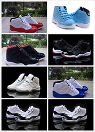 Wholesale Good Outdoor Basketball - kids sneakers retro 11 basketball shoes 2016 for boys girls bred legend gamma blue concord pantone good quality US size 11C-3Y