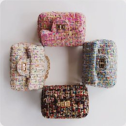 Wholesale Kids Purse For Girls - DHL free shipping Children Fashion Shoulder Bags Kids Brand New Purse Preschool Girls Wallets Birthyday gift for baby kids Child bag CK114
