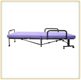 Wholesale Elite Pad - Sleep Master Traveler Elite Folding Guest Bed (190*120CM) Steel Structure Anti-Dust Fabric Cover Anti-Slippery Pad Manuel Positon Adjusting
