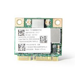 Atacado-Broadcom BCM943227 BCM943227HM4L 802.11b / g / n 300 Mbps Wifi Sem Fio Meia Mini Cartão PCI-E Wlan para Lenovo IBM Z370 Z570 Z475 B475 de