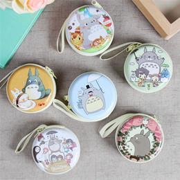 Wholesale Totoro Wallet Wholesale - Wholesale- Cartoon My Neighbor Totoro Earphone Headphones Portable Storage Case Bag Coin Pocket Box Wallet Purse 7cm*3cm