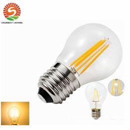 Wholesale Edison Style - 2016 E26 E27 LED Filament bulbs 360 Angle Edison Lamp 2W 4W 6W 8W AC85~265V classical style LED bulbs reliable quality 3years warranty