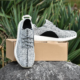 Wholesale Cheap Men Summer Tops - Wholesale 2017 Boost 350 Tan Boost Top Quality Kanye West 350 Men Women Trainers Shoes Sneaker Discount Cheap Sport Boots With Box