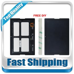 Wholesale Screen Replacement Tab - Wholesale- For New Lenovo Tab A10-70 A7600 Replacement LCD Display Touch Screen Assembly Black 10.1-inch Free Shipping
