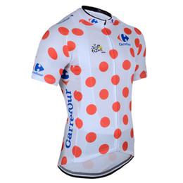 Wholesale Mountain Tours - HOT 2017 Tour DE France champion Cycling jerseys Ropa Ciclismo short sleeves cycling jersey Mountain Racing Bike Cycling Clothing