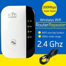 Wholesale Wireless Expander - Wifi AP Router Booster Extend Amplifier Wireless 802.11N WPS 300Mbps Wifi Repeater AP Router Range Expander Repeater EU UK US AU Plug
