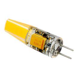 Wholesale crystal led spotlight - G4 LED Bulbs 12V Warm White Lamp Lighting Corn LED Bulb Crystal Chandelier Spotlight Light Replace Halogen LED Light