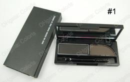 Wholesale Eyebrow Powders - Duo Eyebrow Shadow Delicated Shadow Definition Sha Derfard Poudre Pour Les Sourcils Eyebrow shadow Palette 3g 10pcs