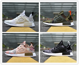 """Wholesale Band Collection - Wholesale Collection NMD XR1 """"Duck Camo"""" Mesh Triple Men Women Running Shoes Sneakers NMD Runner Primeknit Casual Shoes with original box"""