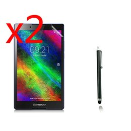 a8 lcd Скидка 3in1 2x LCD Clear Screen Protector Films Protective Film Guards +1x Stylus For Lenovo Tab 2 Tab2 A8-50 A8-50F A8-50LC 8