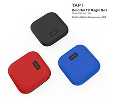 Wholesale I Quad Core Android - New TAP I Android TV Box Amlogic S905X Quad Core Set Top Box Android 6.0 2GB 16GB Wifi 4K H.265 HD Media Player