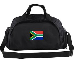 Wholesale National Africa - South Africa duffel bag National team style tote Work out backpack Football luggage Sport shoulder duffle Outdoor sling pack