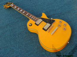 Wholesale Electric Guitar Randy Rhoads - Yellow Randy Rhoads Custom Electric Guitar Mahogany Body Gold Hardware From China