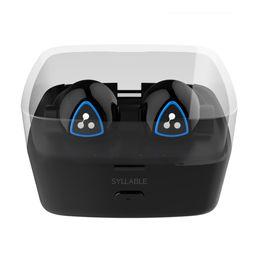 Wholesale Syllable Wireless Bluetooth Headphones - Syllable D900S Bluetooth Headphones Wireless True Wireless Noise Cancelling Bluetooth Headset CSR8670 Stereo Headset CSR 4.0 Earphones