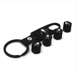 Cubierta de rueda de metal online-Envío gratis 1 / set Metal M Car Emblem Pegatina cubierta de la rueda pegatinas Decal car-styling Para BMW x5 e53 E46 E39 E90 E36 E60 E30 F30 F10 E34