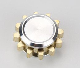 Wholesale Toy Gear Wheels - One Teeth Linkage 1 GEAR Hand spinner 1 teeth gear HandSpinner Fidget Spinner with 1 wheels Top Finger Gyro Decompression Anxiety Toy